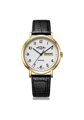 Rotary Watches Gold Windsor Gents