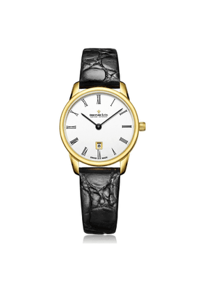 Dreyfuss & Co 1980 Womens Analogue Classic Quartz Watch With Leather Strap