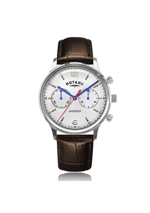 Rotary Watches Rotary Avenger Stainless Steel White Dial Watch