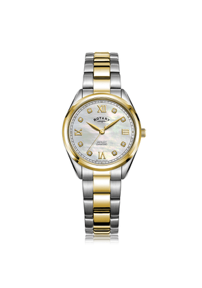 Rotary Watches Rotary Henley Two Tone Gold Pvd Watch