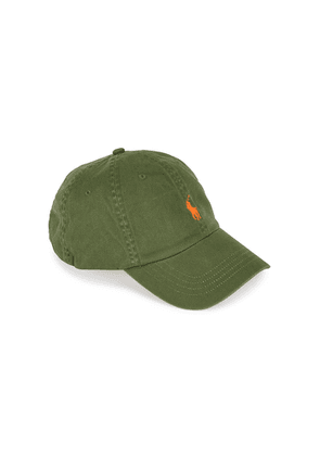 Polo Ralph Lauren Army Green Logo-embroidered Twill Cap