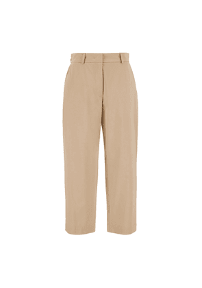 Weekend Max Mara Cotton Sateen Trousers