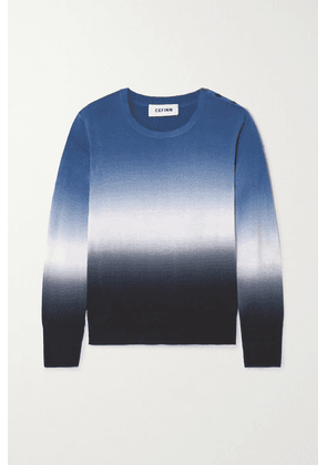 Cefinn - Jenner Ombré Wool Sweater - Blue
