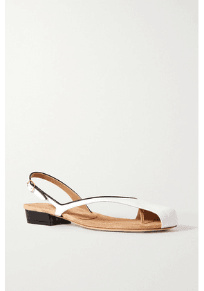 Dries Van Noten - Donna Two-tone Leather Sandals - White