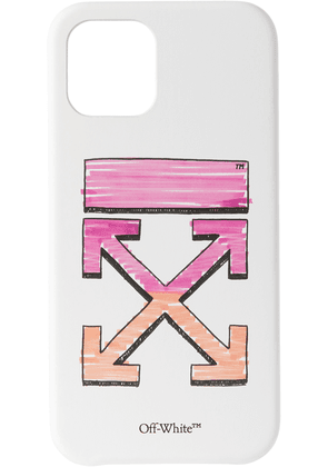 Off-White White Marker iPhone 12 & iPhone 12 Pro Case