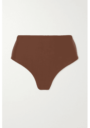 Matteau - + Net Sustain The High Waist Bikini Briefs - Brown