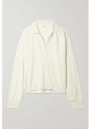 Arch4 - + Net Sustain Oxford Organic Cashmere Sweater - Ivory