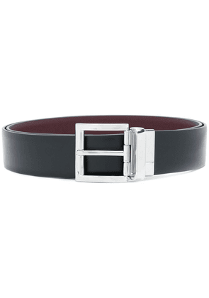Prada saffiano reversible belt - Black