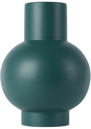 raawii Green Earthenware Extra-Large Vase