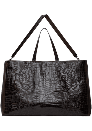 Peter Do Brown Medea Edition Croc Everyday Tote