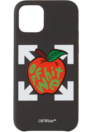 Off-White Black & Red Apple iPhone 12 & iPhone 12 Pro Case