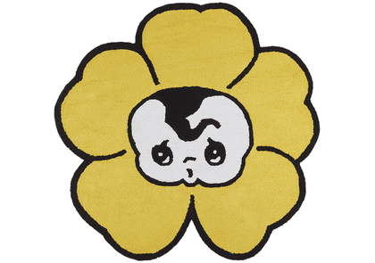 Marc Jacobs Yellow Ancco Edition Heaven By Marc Jacobs Flower Rug
