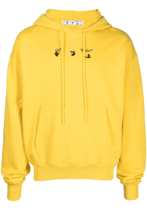 Off-White Bolt Arrow Over hoodie - Yellow