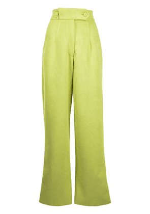 Bambah high-waisted palazzo trousers - Green