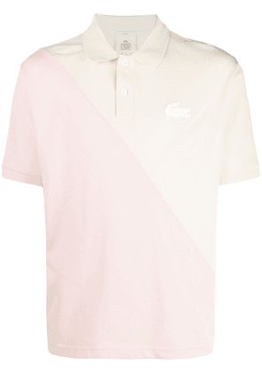 Lacoste Live colour-block polo shirt - Yellow