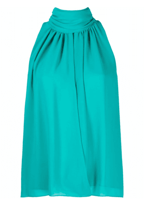 CAMILLA AND MARC gathered halter-neck blouse - Blue