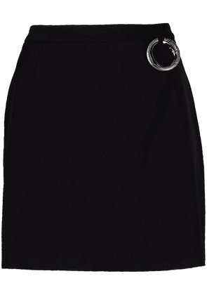 Act N°1 high-waisted fitted skirt - Black