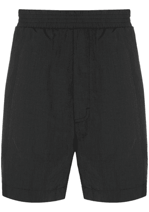 1017 ALYX 9SM elasticated waistband track shorts - Black