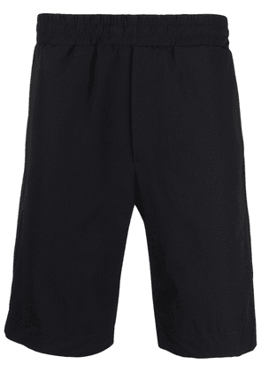 Tagliatore elasticated waistband track shorts - Black