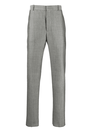 Alexander McQueen woven tailored trousers - Grey