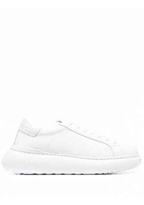 Hide&Jack chunky sole low-top sneakers - White