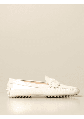 Tod's Gommini moccasin in leather with chain