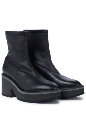 Albane leather sock boots
