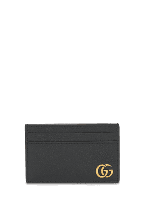 Gg Marmont Leather Card Case