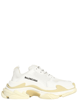 60mm Triple S Faux Leather Sneakers