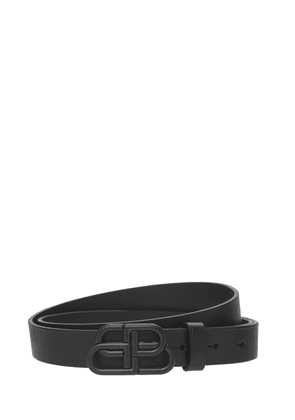 Bb Leather Belt