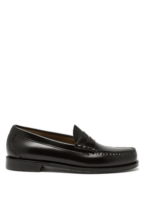 G.h. Bass & Co. - Weejuns Larson Leather Penny Loafers - Mens - Black