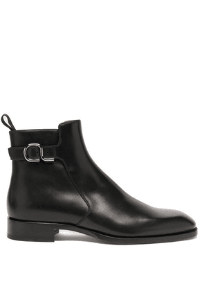 Christian Louboutin - Valido Leather Chelsea Boots - Mens - Black