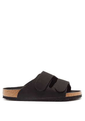 Birkenstock X Toogood - The Forager Canvas And Cork Sandals - Mens - Black