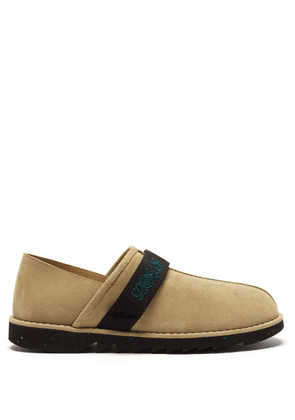 Eye/loewe/nature - Suede Slip-on Trainers - Mens - Brown