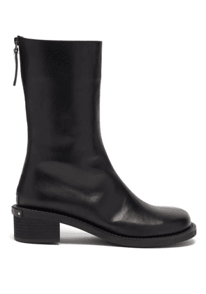 Osoi - Toboo Leather Ankle Boots - Womens - Black