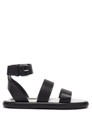 Proenza Schouler - Pipe Padded-insole Leather Sandals - Womens - Black