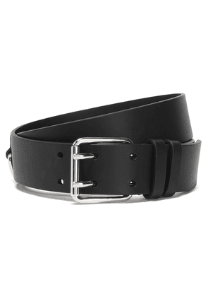 Iro Atlas Leather Belt Woman Black Size 90