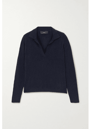 Arch4 - Ribbed Cashmere Sweater - Navy