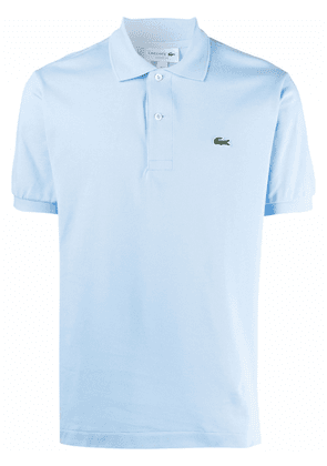 Lacoste logo-embroidered polo shirt - Blue