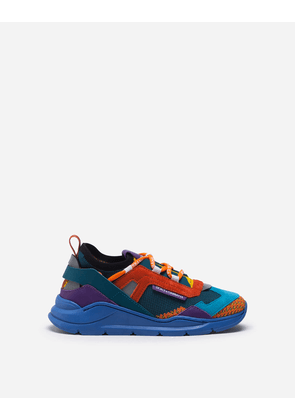 Dolce & Gabbana Shoes (24-38) - Daymaster sneakers in mixed materials MULTICOLORED male 25