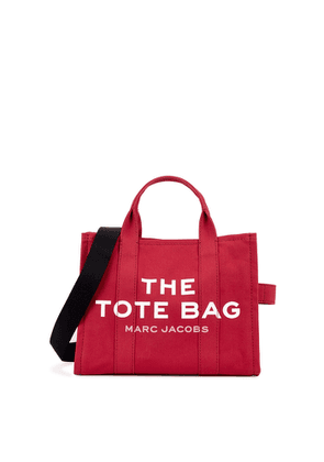Marc Jacobs (The) The Traveler Small Raspberry Canvas Tote
