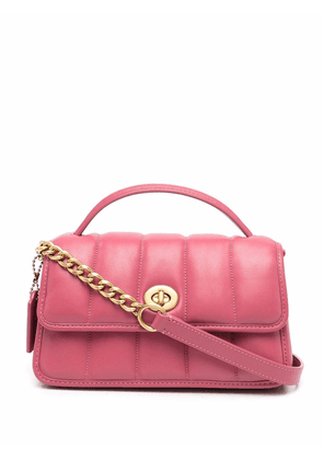 Coach quilted leather crossbody bag - Red