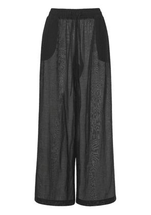 Mousseline Straight Pants