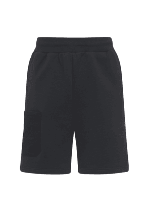 Logo Embroidery Cotton Jersey Shorts