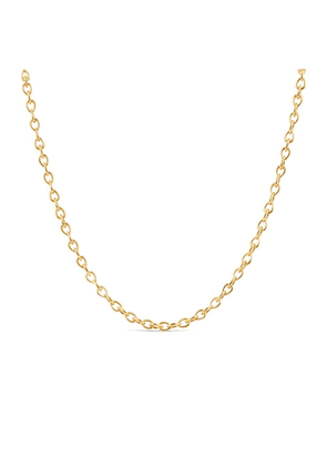 Dinny Hall Gold Raindrop Small Link Necklace