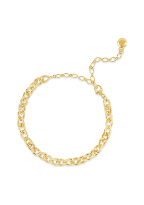 Dinny Hall Gold Raindrop Small Link Bracelet