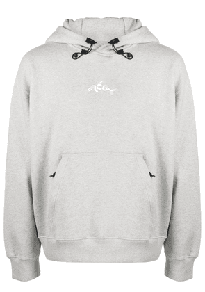 Nike ACG GPX Dolphin embroidered hoodie - Grey