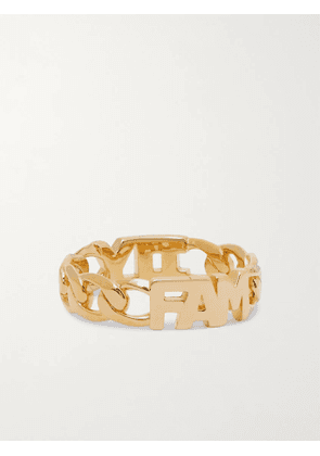 MARIA BLACK - Family Gold-Plated Ring - Men - Gold - 60