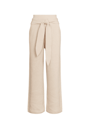 Tala high-rise belted pants