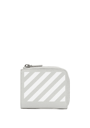 Off-White Diag compact wallet - Grey